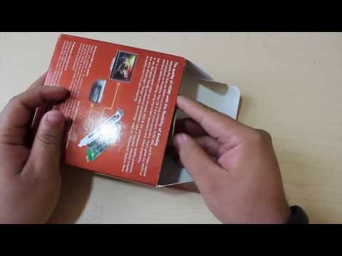 Unboxing |�BlackMagic Design Intensity Pro Capturadora Interna