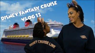 Disney Fantasy   Disney Cruise   A Fun Day at Sea   VLOG 12