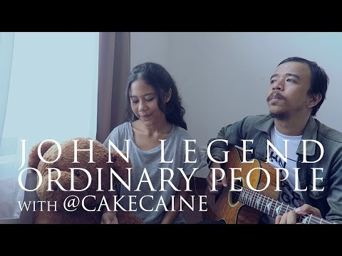 John Legend - Ordinary People (Live Acoustic Cover) with Nadin MP3