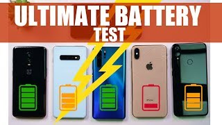 Huawei P30 Pro, Redmi Note 7 Pro, Galaxy S10 Plus, iPhone XS Max, Oneplus 6T: MEGA BATTERY TEST!