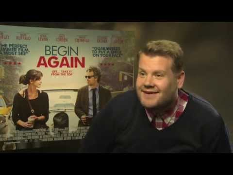 James Corden, Keira Knightley and Mark Ruffalo talk new movie Begin Again, karaoke classics and more