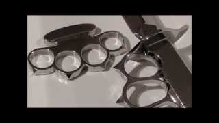 How to make a Patent Boxer Style Knuckle Duster / Как сделать кастет