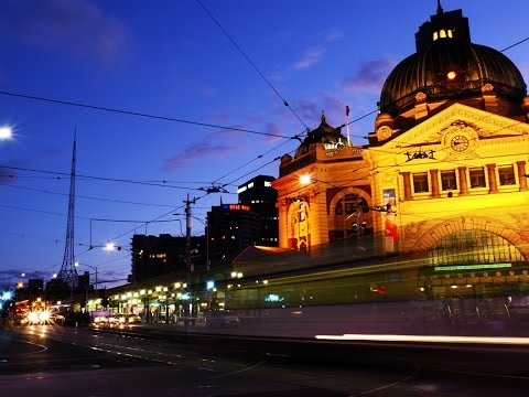 Travel and food in Melbourne