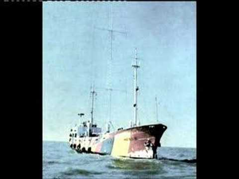 Radio North Sea Ship 1977 - Anchored off Libya