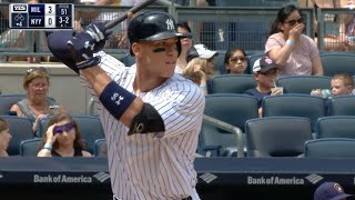 MIL@NYY: Suter works fast, Judge sets up quickly