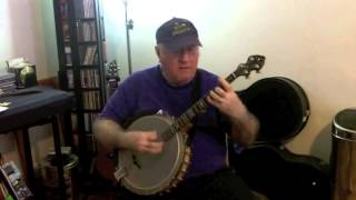 """Oriental Man"" (as by Johnny Dodd) Eddy Davis Banjo"