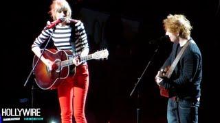 download lagu Taylor Swift & Ed Sheeran Duet Goes Wrong 'everything gratis