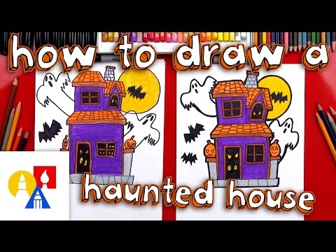Play this video How To Draw A Haunted House
