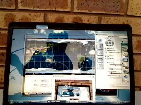 Video 3  SATELLITE TEST AMATEUR RADIO