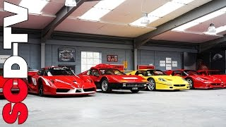 Supercar Collection - road legal FXX, 2x F50, F40, Countach +++