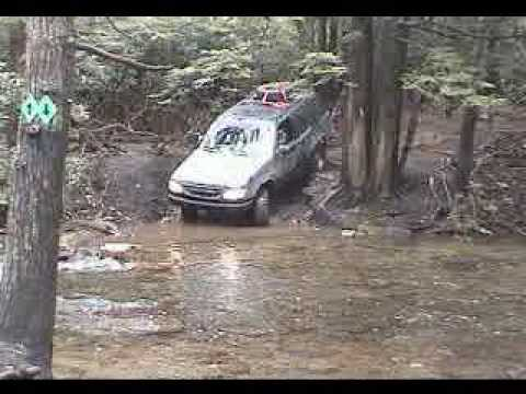 Ford Explorer 4X4 Crossing Stream Video