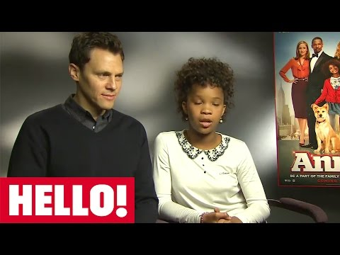 Annie! Star Quvenzhane Wallis And Director Will Gluck Chat To HELLO!