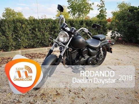 Daelim Daystar 2018 / Rodando / Prueba dinámica / Review / Supermotoronline.com