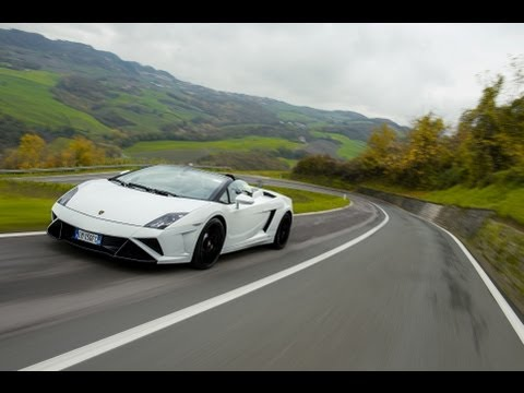 Test- Prova: Lamborghini Nuova Gallardo Lp 560-4 Spyder