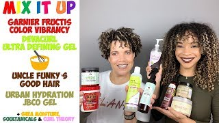 MIX IT UP | DevaCurl, Uncle Funky's, Soultanicals, Urban Hydration + More