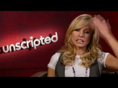 Unscripted: Kristen Bell and Jason Segel (FULL interview)