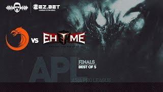 [DOTA 2 LIVE PH] TnC Predator VS EHOME |Bo5|Asia Pro League GRAND FINALS