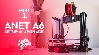 Setup and upgrade Part 1 / Anet A6 / Montaje y Mejora Parte 1/ impresora 3D