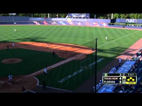 05/21/2013 Texas A&M vs Florida Baseball Highlights