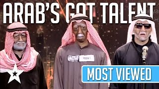 Most Viewed Auditions Ever On Arab 39 S Got Talent Got Talent Global