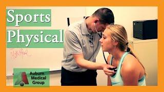 School Sports Physical Exam | Auburn Medical Group