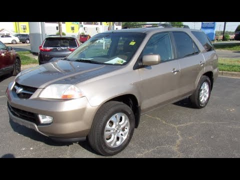 2003 Acura MDX Touring AWD Walkaround, Start up, Tour and Overview