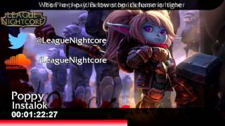 [Nightcore] - Poppy - Instalok {Lyrics}