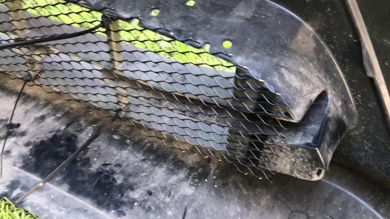 X trail сетка в бампер своими руками