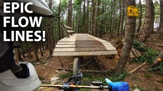 SUPER SICK FLOW LINE in WHISTLER! Berms, Jumps, gaps, ladder bridges! | Jordan Boostmaster