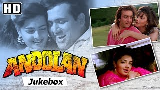Andolan [1995] | Sanjay Dutt, Govinda, Mamta Kulkarni, Somy Ali | Bollywood 90