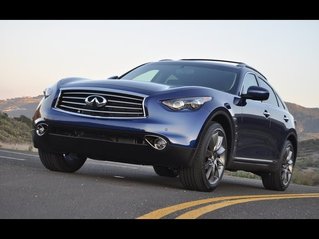 2012 Infiniti FX35 Drive and Review - YouTube