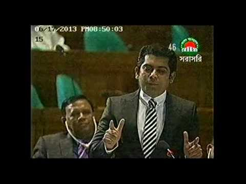 Barrister Andaleeve Rahman 's 3rd Parliamentary Speech June 17 , 2013 (Full version)