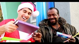 Magic Santa For Homeless!