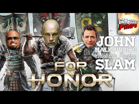 John Malkovich's For Honor Poetry Slam (Medieval Combat) - GameSocietyPimps