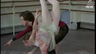 Anthony Dowell and Antoinette Sibley Rehearse 'The Sleeping Beauty'