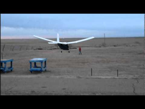 Big Slow Floppy Wing RC Model