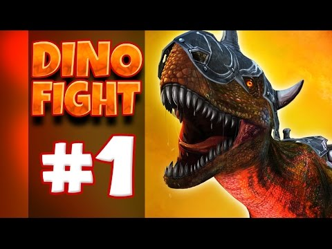 Dino Fight 3d | Dinosaur Android Apps #1 video