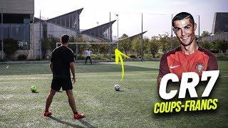 FRAPPER LES COUPS-FRANCS COMME CRISTIANO RONALDO !