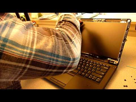 Laptop screen replacement / How to replace laptop screen [Lenovo Thinkpad E420]