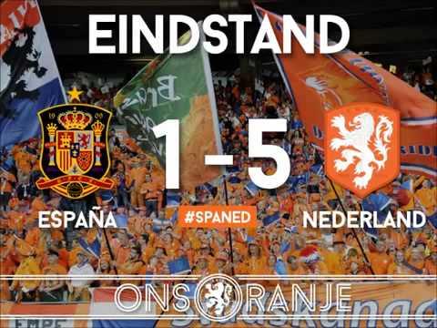 Vrijdag de 13e Spanje Nederland WK Brasil 2014 nederland spanje