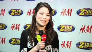 Miranda Cosgrove @ Jingle Ball 2009 LIVE AT MSG