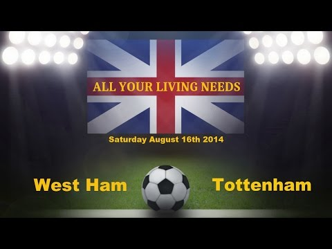 EPL West Ham United vs Tottenham Predictions Barclays English Premier League 2014