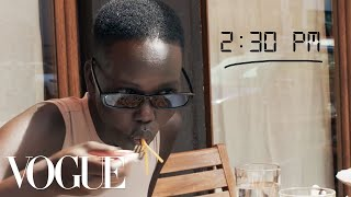 How Top Model Adut Akech Gets Runway Ready | Diary of a Model | Vogue