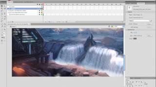 Animated Landscapes 2 - Adobe Flash Animation Tutorial