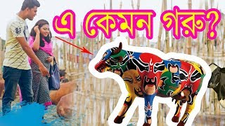 Bangla New Funny Video । এ কেমন গরু ? । Korbanir Eid Special । New Video 2017 | Mojar Tv