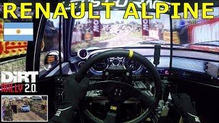 DiRT Rally 2.0 - Argentina @ Renault Alpine A110 1600 S [OSW + H Shifter + Handbrake]