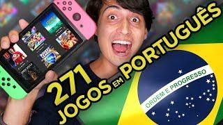Nintendo Switch Jogos em Português! 271 Games para o Brasil