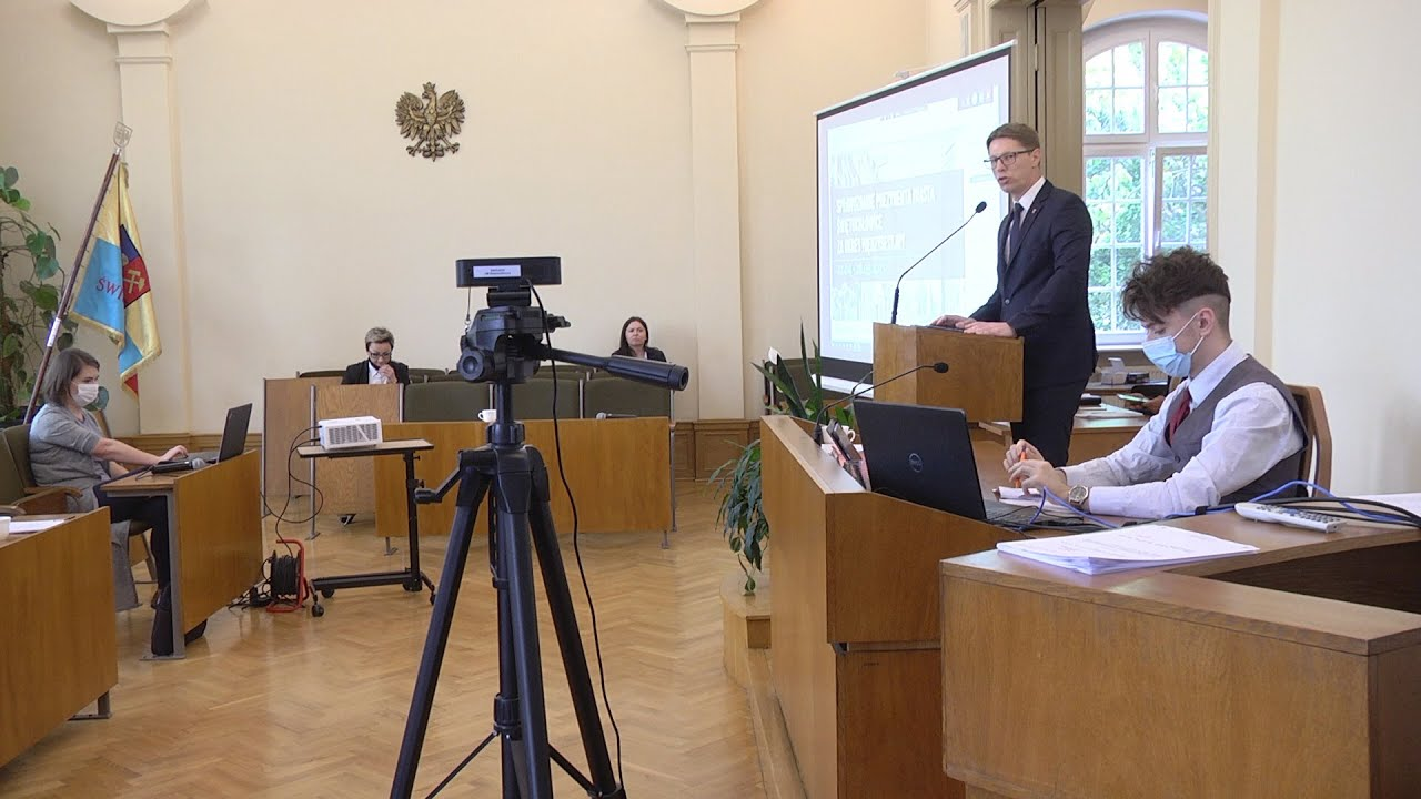 XLIII sesja Rady Miejskiej, część III