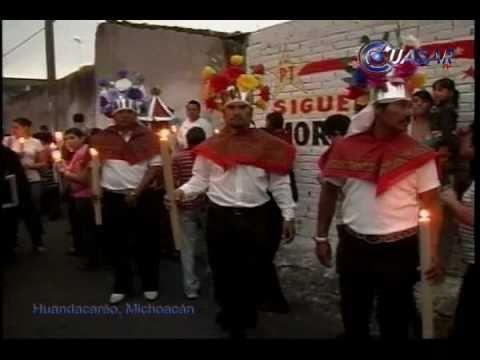 Señor del Amparo cabalgata y procesión Huandacaréo Michoacán