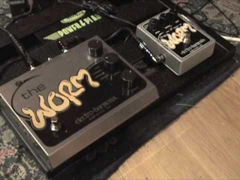 Electro Harmonix WORM shootout old versus new version